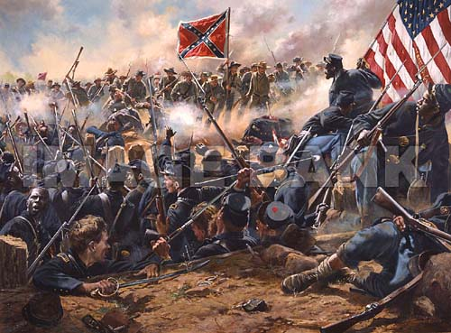 Mahone s Counter Attack Battle of the Crater Petersburg