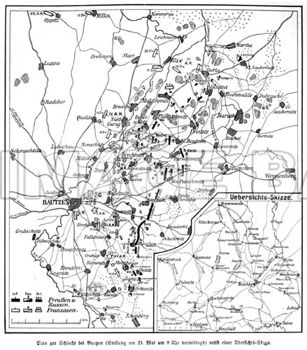 Battle Bautzen 1813 Nb60d_map_of_battle_at_bautzen