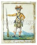 RWf6ds - German drawing of a Scottish Highlander