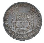 FW31ds - Spanish 8 Reale silver coin dated 1752