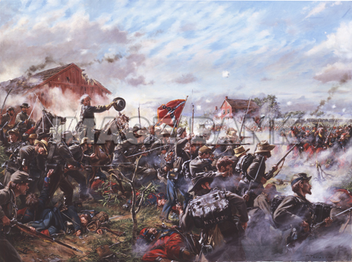 Tcw4 Barksdale S Charge General Barksdale S Mississippians