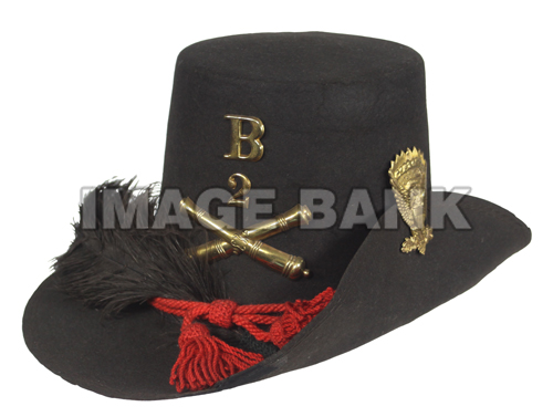 CWc159d- Enlisted Man s Hardee Hat With Regulation Artillery Insignia  4db2b5b72c2